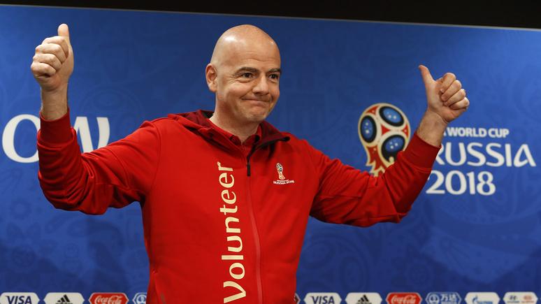 Глава ФИФА: ЧМ-2018 — лучший в истории футбола