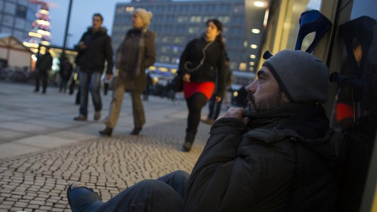 Bild: граждан Германии волнуют социальные проблемы, а не беженцы