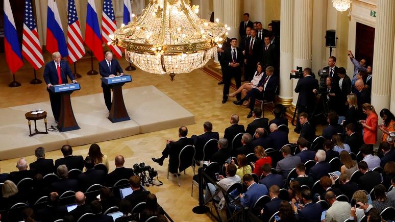 Berliner Morgenpost: нарциссизм Трампа принёс Путину ослабление Запада на блюдечке