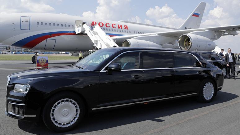 BFM TV рассказал о новом политическом оружии России — лимузине Путина