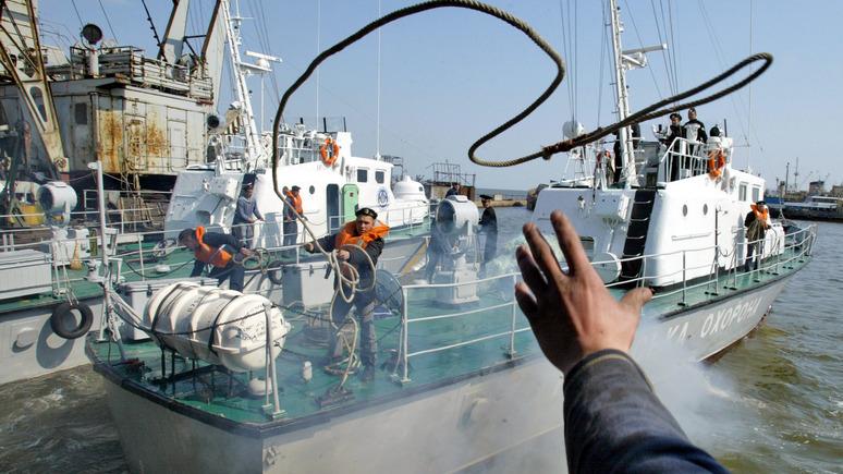Эксперт: украинский «флот на вёслах» не в силах противостоять российской береговой охране