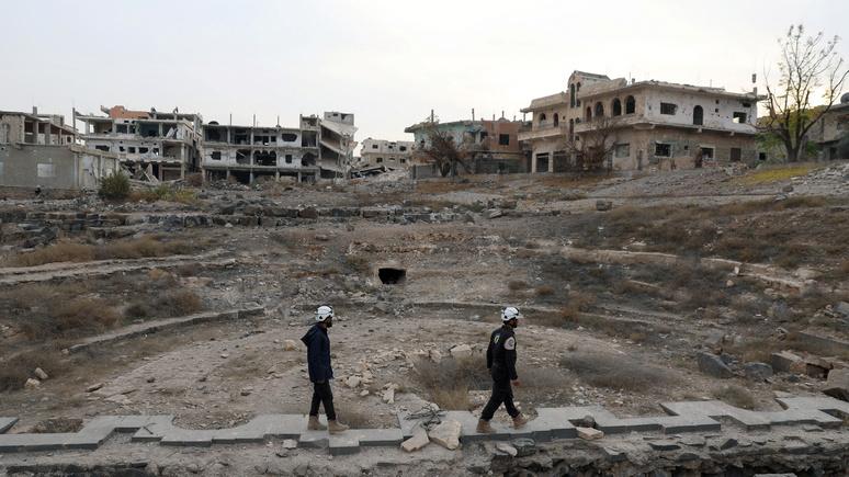 Guardian: для эвакуации «Белых касок» на Запад потребовалась помощь Израиля и Иордании