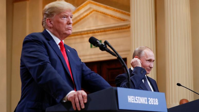 Bundesdeutsche Zeitung: Хельсинки вернул Трампа и Путина в мир реалий ядерных сверхдержав