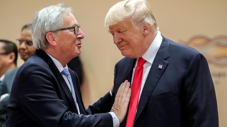 Юнкер ещё раз попытается убедить Трампа не вводить пошлины против европейского автопрома