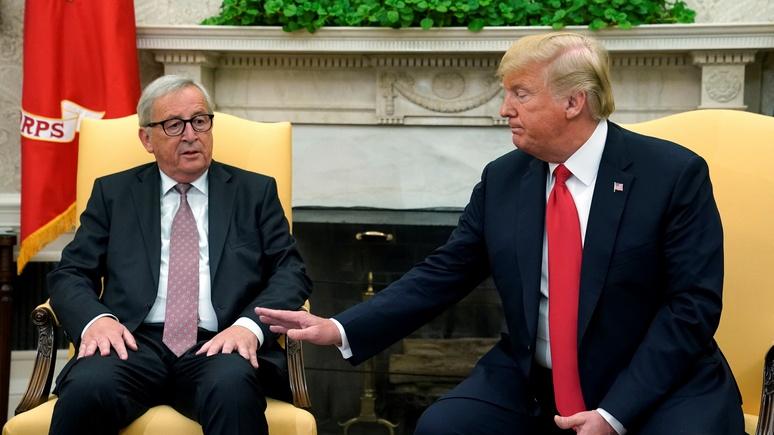 Die Welt: на уступки в торговом споре пошла Европа, а не Трамп