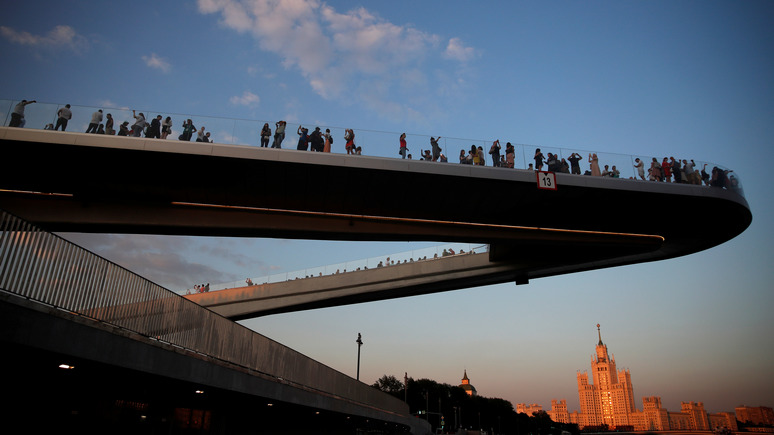 WSJ: «Зарядье» демонстрирует стремление Москвы стать городом передовой инфраструктуры
