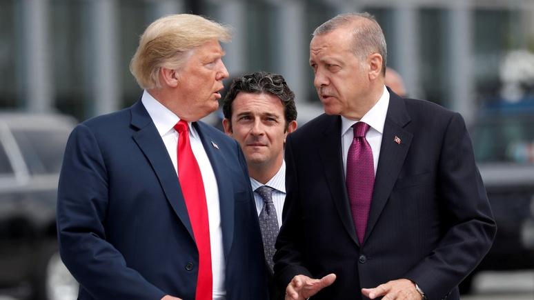 N-TV: Турция возмущена санкциями США и требует их отмены