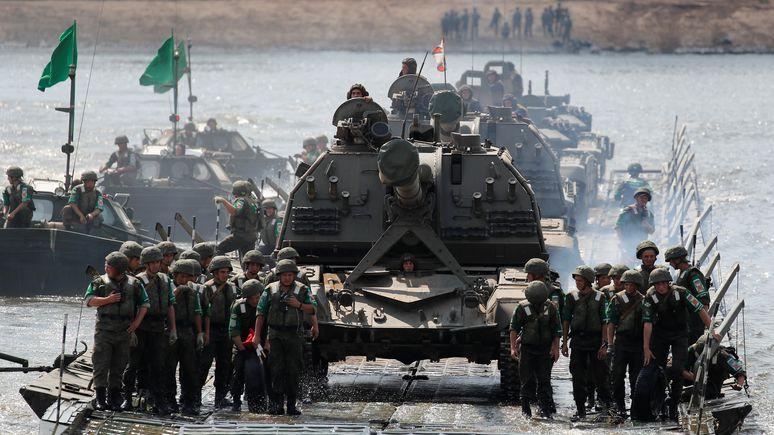 Franceinfo: Армейскими играми Россия показывает военную мощь и укрепляет дипломатический статус