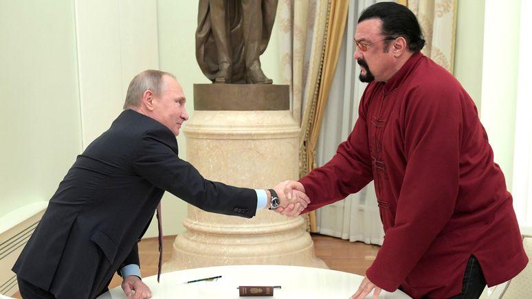 Quartz объяснил, почему Сигал — идеальный посредник между Путиным и Трампом