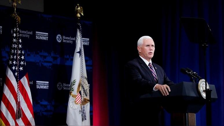 Fox News: Пенс призвал укрепить космическое господство США к 2020 году