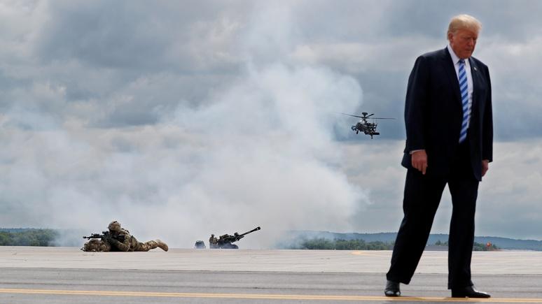 WP: Трамп представил рекордный бюджет на оборону, но забыл упомянуть Маккейна