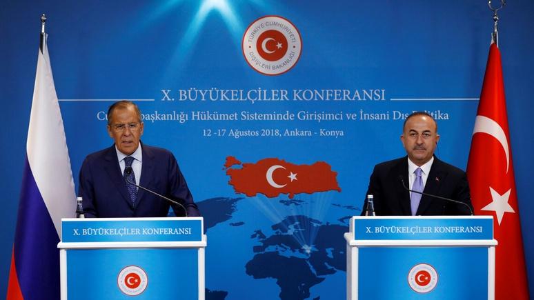Frankfurter Allgemeine: в «эпоху бесчинств» США Россия встала на сторону Турции