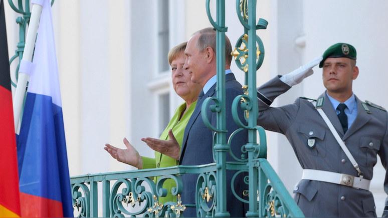 RP: встречей с Меркель Путин окончательно закрыл «посткрымский» период