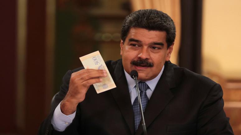 La Vanguardia: Мадуро обрушил боливар к доллару на 96%