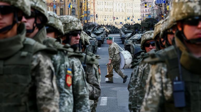 Heute: ко Дню независимости украинская армия выучит «фашистское приветствие»