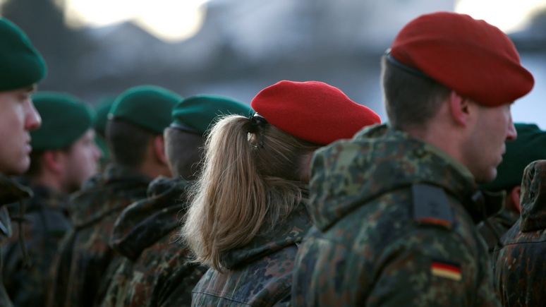 N-TV: в Германии обсуждают воинскую повинность для беженцев