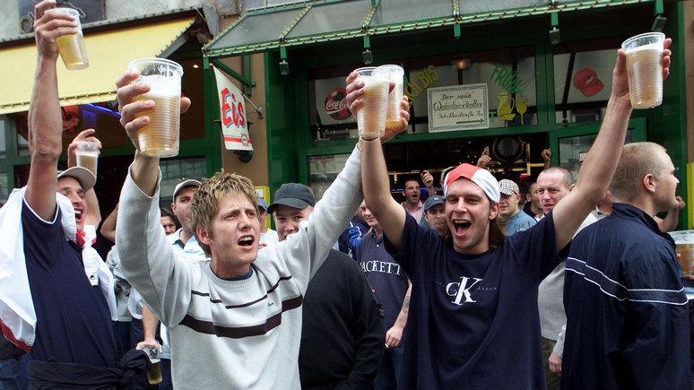 France Inter: алкогольное лобби мешает британцам победить пьянство