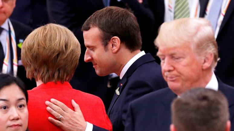 Contra Magazin: из-за эгоизма Вашингтона трансатлантическое единство трещит по швам