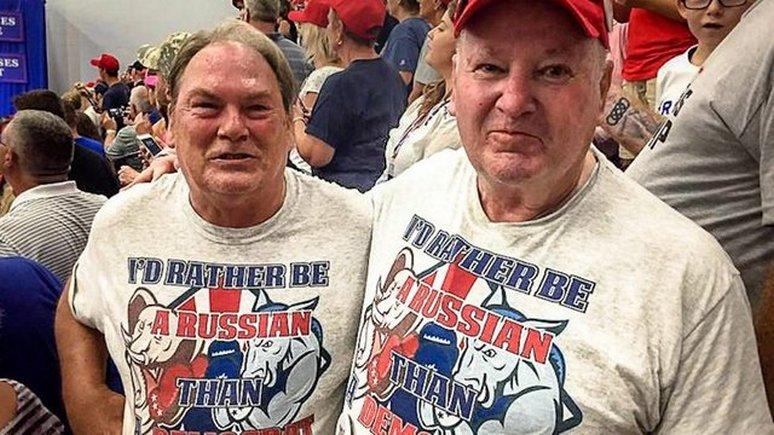 Hill: американцев в футболках «Я лучше буду русским, чем демократом» окрестили «предателями»