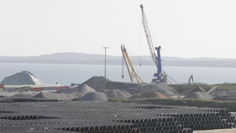 FT: в немецких водах началось строительство участка «Северный поток — 2»