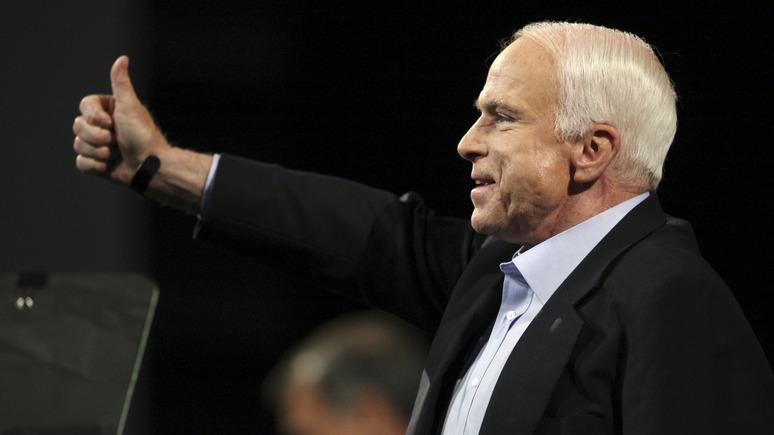 Обозреватель NYT: прощание с Маккейном — «реквием по американской эпохе»