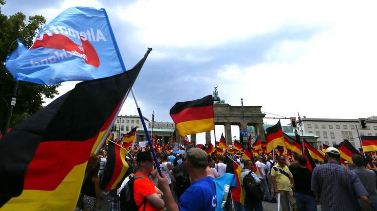 Frankfurter Allgemeine: АдГ превзошла социал-демократов по популярности среди немцев