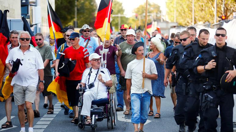 BR: беженцам так и не удалось стать «главным кошмаром» немцев в 2018 году
