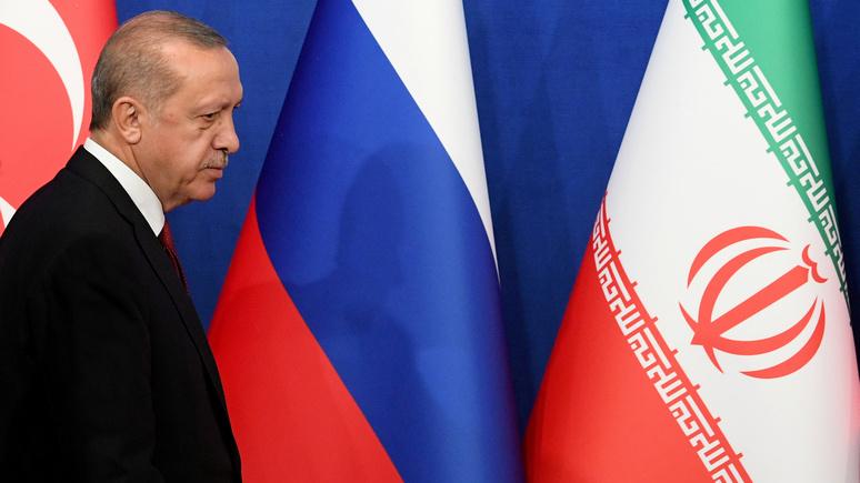 ABC: Эрдоган не убедил Путина и Рухани отказаться от наступления в Идлибе