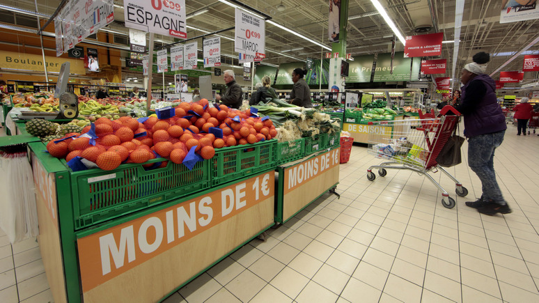 Le Figaro: каждый четвёртый француз отказывает себе в овощах и фруктах