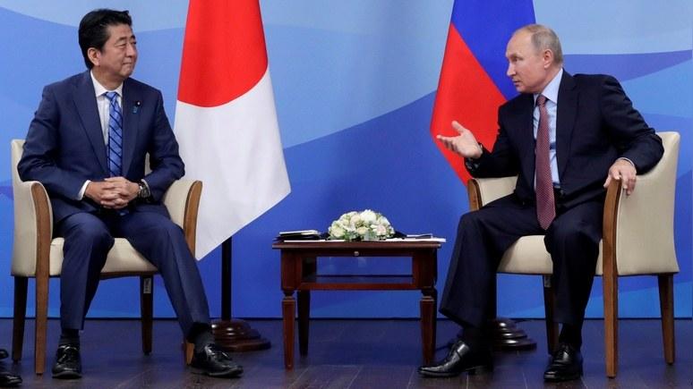 Reuters: Путин предложил Абэ подписать мирный договор до конца 2018 года
