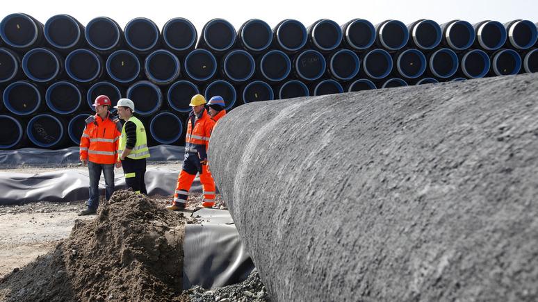 Bloomberg: США предупредили Россию о возможных санкциях за «Северный поток — 2»