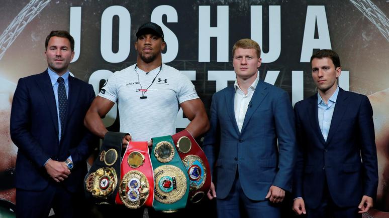 Telegraph: в поединке с британским боксёром Джошуа за Поветкиным будет вся Россия — и даже Путин