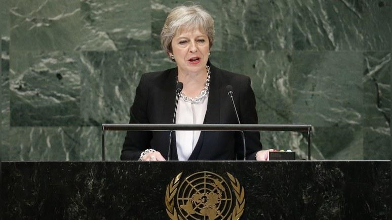 Daily Express: в ООН Мэй отчитала Россию за «отвратительное» поведение
