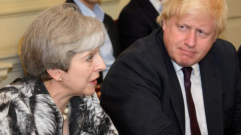 Times: битва за «корону» Мэй началась — среди претендентов Борис Джонсон