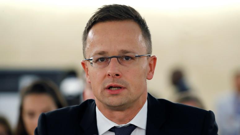 24 канал: главу МИД Венгрии внесли в базу сайта «Миротворец»