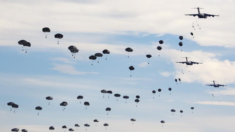 Neues Deutschland: «Единым трезубцем» США сдерживают военные амбиции Европы