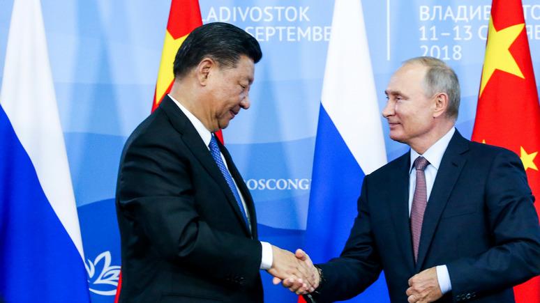 National Interest: прочность китайско-российского альянса вызывает серьёзные сомнения