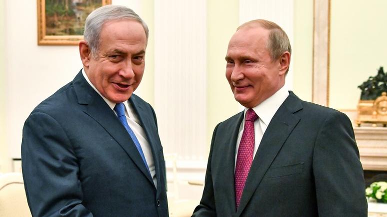 DT: Встреча с Путиным станет «лучом света» для Нетаньяху после инцидента с Ил-20