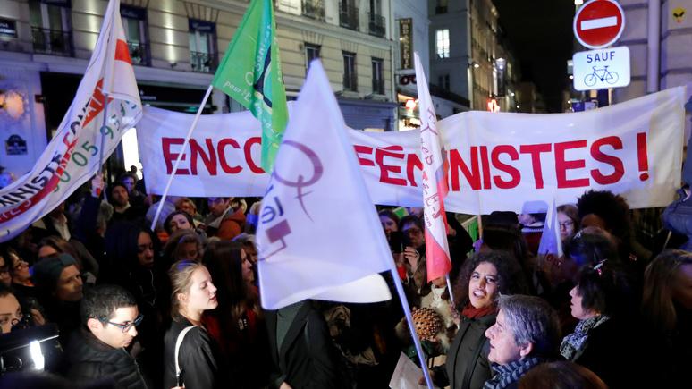 Figaro: воинствующий феминизм и дискриминация белых — писательница рассказала, чем опасны для Франции «политкорректные» идеи из США