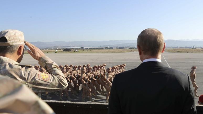 National: Россия намерена остаться в Сирии надолго