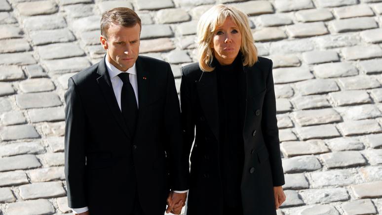 Le Parisien рассказала о том, как Бриджит Макрон переживает из-за политических скандалов