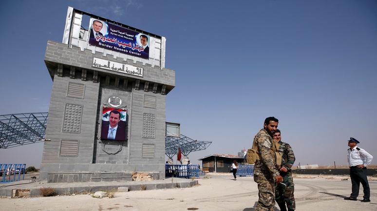 DWN: Иордания открыла границу с Сирией в расчёте на победу Асада