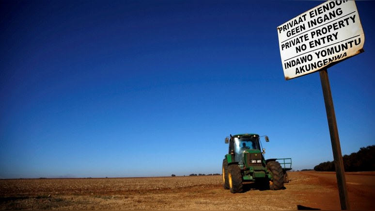 Daily Star: экспроприация земли в ЮАР подталкивает белых фермеров к переезду в Россию