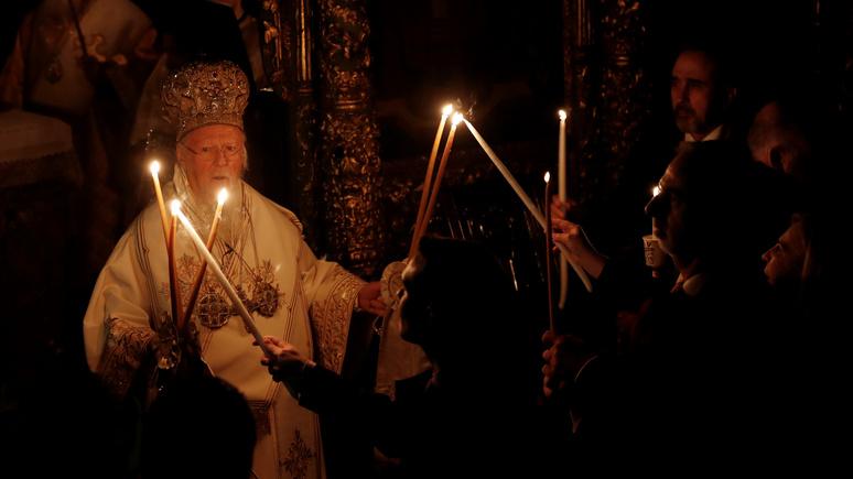ГОРДОН: в РПЦ назвали патриарха Варфоломея «раскольником»
