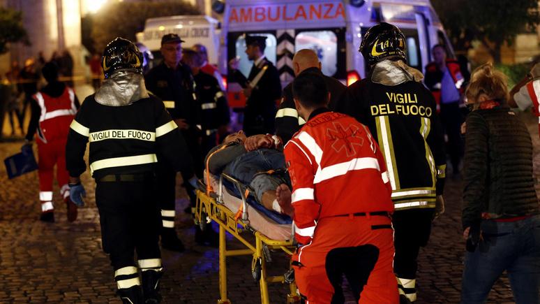 «Сцена из апокалипсиса»: римские власти выясняют причину аварии на эскалаторе