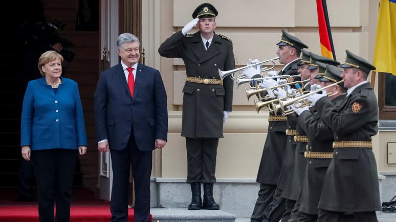 Bild: дома пожар, а Меркель думает о новых санкциях против России
