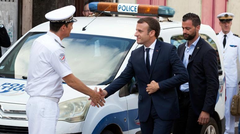 Le Figaro: во Франции предотвратили «акт агрессии» против Макрона