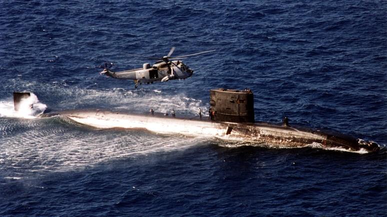 Daily Star: Великобритания отправила в Средиземное море атомную подлодку — «присмотреть» за Россией
