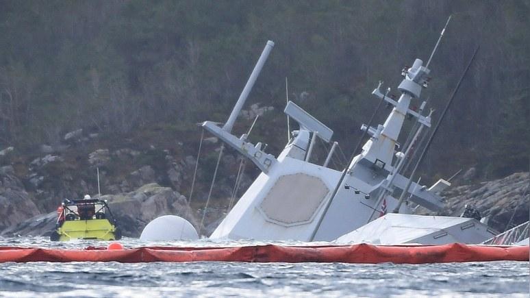 Task and Purpose: севший на мель норвежский фрегат не годится даже на запчасти