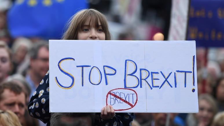 Sky News: больше половины британцев выступают против брексита